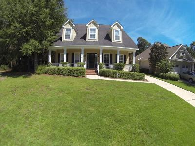 Mobile Single Family Home For Sale: 6446 Clear Pointe Court