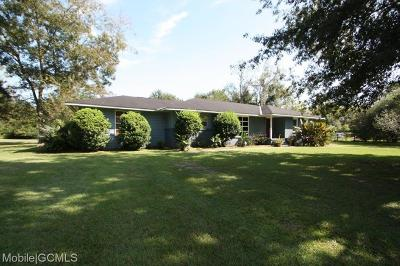 Theodore Single Family Home For Sale: 10195 Dauphin Island Parkway