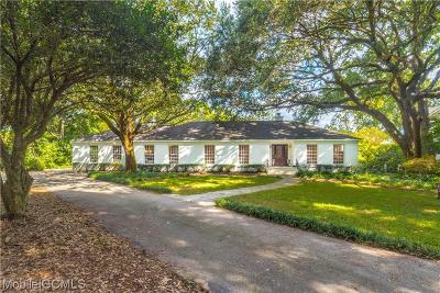 Mobile Single Family Home For Sale: 4226 Bellevue Lane