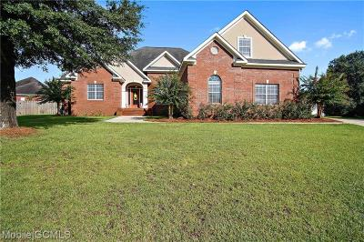 Saraland Single Family Home For Sale: 3623 Willow Walk Drive