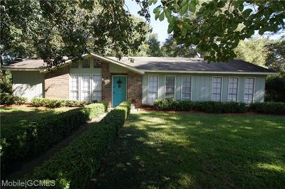 Semmes Single Family Home For Sale: 9850 Petaluma Drive