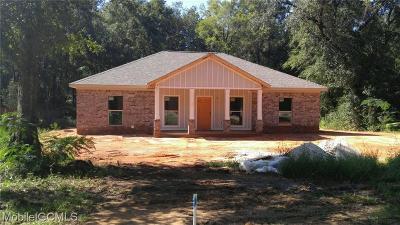 Creola Single Family Home For Sale: 10169 Hardy Drive