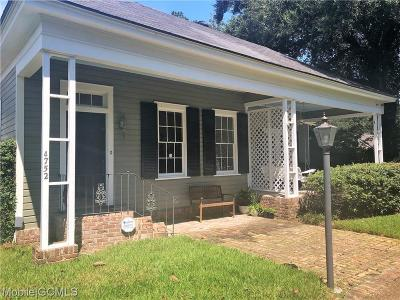 Mobile Single Family Home For Sale: 4752 Old Shell Road