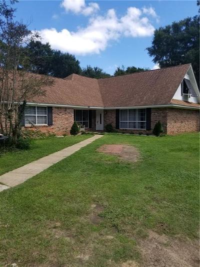 Mobile Single Family Home For Sale: 3401 Lacoste Road