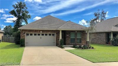 Semmes Single Family Home For Sale: 8365 Clairmont Drive S