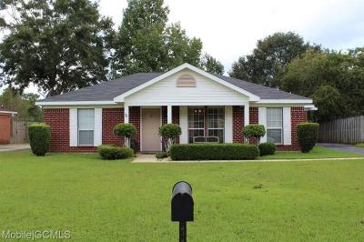 Semmes Single Family Home For Sale: 1835 Woodbrook Drive