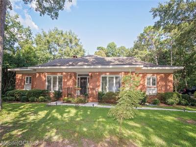 Mobile Single Family Home For Sale: 3105 Riviere Du Chien Loop W