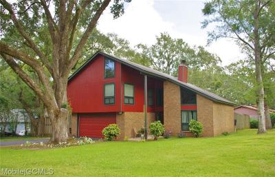 Mobile Single Family Home For Sale: 1913 Oakleaf Court