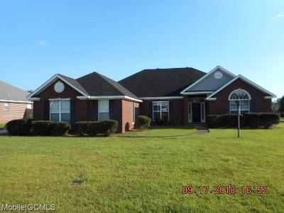 Mobile Single Family Home For Sale: 9691 Hampshire Court