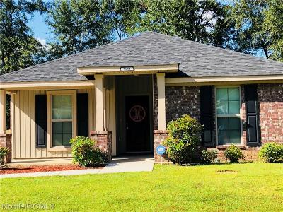Semmes Single Family Home For Sale: 9680 Magnolia Cove Court