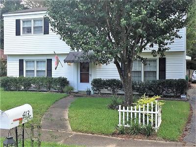 Mobile Single Family Home For Sale: 413 Coventry Way