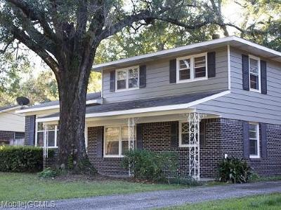 Mobile Single Family Home For Sale: 664 Momote Drive W
