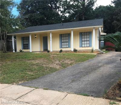 Mobile Single Family Home For Sale: 6516 Timbers Drive