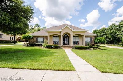 Saraland Single Family Home For Sale: 7857 Walnut Ridge Court