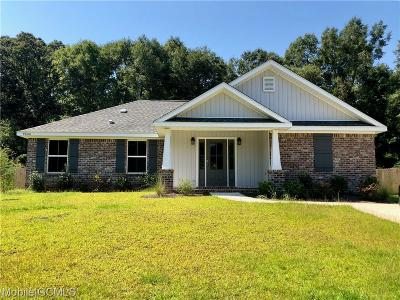 Semmes Single Family Home For Sale: 9800 Ashland Hills Court