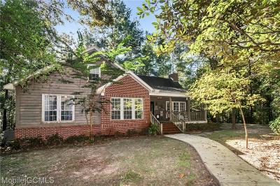 Chunchula Single Family Home For Sale: 9545 Aubrey Lane