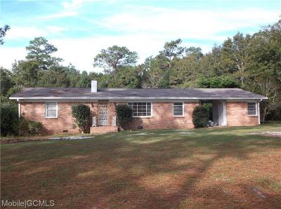 Irvington Single Family Home For Sale: 8250 One Mile Road