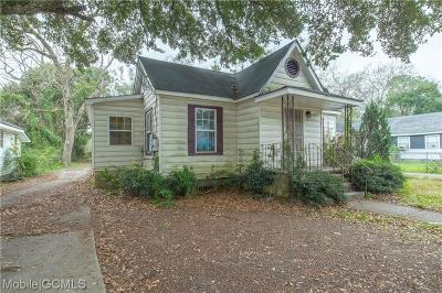Mobile County Single Family Home For Sale: 967 Arlington Street