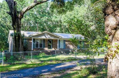 Grand Bay Single Family Home For Sale: 10650 Old Pascagoula Road