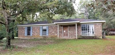 Single Family Home For Sale: 7250 Ridgetop Drive
