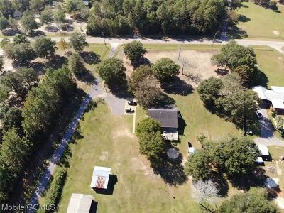 Chunchula Single Family Home For Sale: 15980 Broad Branch Road