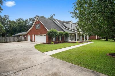 Mobile County Single Family Home For Sale: 5746 Hannah Court