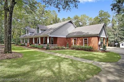 Saraland Single Family Home For Sale: 3810 Traveler Drive