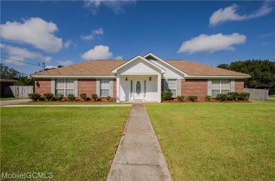 Theodore Single Family Home For Sale: 7512 Willard Drive W