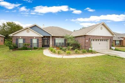 Semmes Single Family Home For Sale: 8611 Fernwood Loop S
