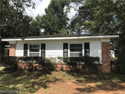 Mobile Single Family Home For Sale: 4242 Raines Drive