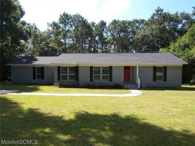 Mobile Single Family Home For Sale: 4207 Springview Drive