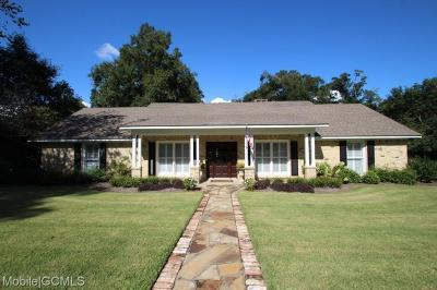Mobile County Single Family Home For Sale: 460 Winslow Drive