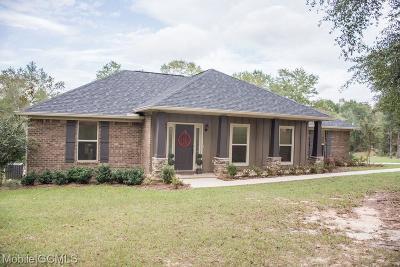 Citronelle Single Family Home For Sale: 9630 Sand Ridge Road