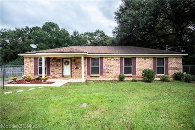 Theodore Single Family Home For Sale: 6959 Greenlea Drive