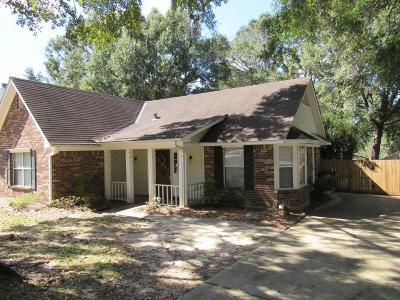 Mobile AL Single Family Home For Sale: $137,500
