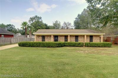 Mobile Single Family Home For Sale: 4060 Henning Drive S