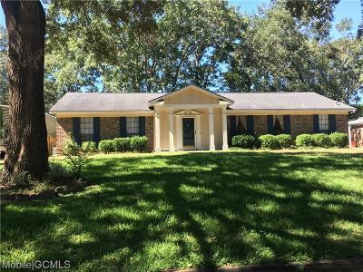 Mobile County Single Family Home For Sale: 5500 Quail Run W