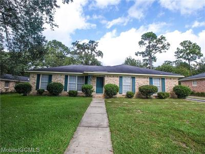 Mobile County Single Family Home For Sale: 1569 McIntyre Drive