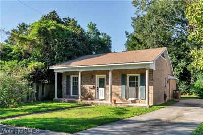 Mobile County Single Family Home For Sale: 1566 Blair Avenue