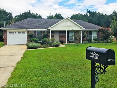Wilmer Single Family Home For Sale: 12935 Pearson Place Drive