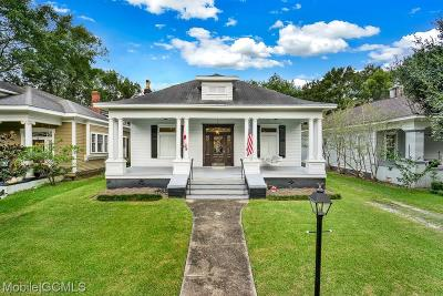 Mobile Single Family Home For Sale: 9 Reed Avenue N