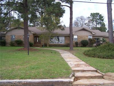 Mobile AL Single Family Home For Sale: $299,900