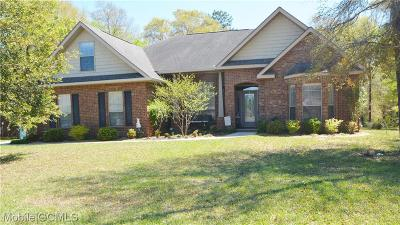 Semmes Single Family Home For Sale: 3658 Whitestone Drive