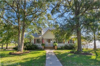 Mobile Single Family Home For Sale: 3031 Bay Front Road