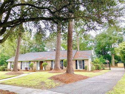 Mobile Single Family Home For Sale: 3767 Claridge Road S