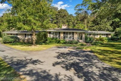 Mobile Single Family Home For Sale: 3904 Rutledge Place