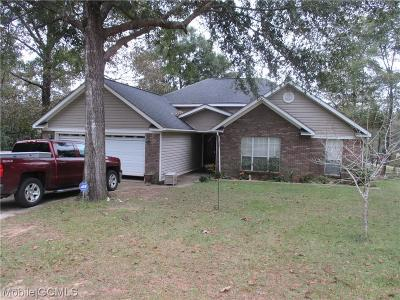 Citronelle Single Family Home For Sale: 18240 Wilson Drive