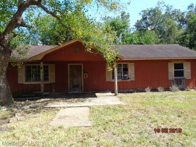 Theodore Single Family Home For Sale: 8595 Carlyle Drive