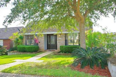 Mobile Single Family Home For Sale: 6087 Highland Circle N