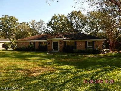 Semmes Single Family Home For Sale: 2828 Aragon Drive